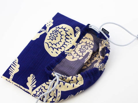Original Furoshiki bag | Blue by Sanyo Shoji - Bento&co Japanese Bento Lunch Boxes and Kitchenware Specialists