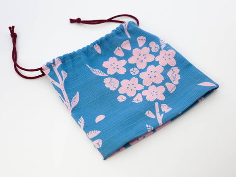 Original Furoshiki Bag | Sky Blue by Sanyo Shoji - Bento&co Japanese Bento Lunch Boxes and Kitchenware Specialists