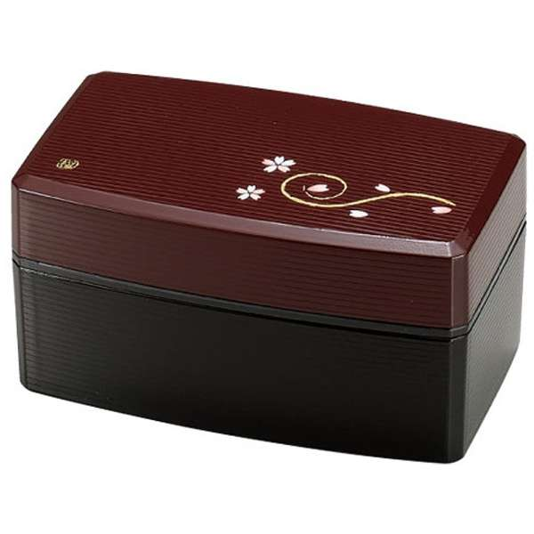 Sakura Negoro Bento Box Black