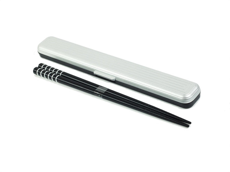 Samon Chopsticks | Silver by Hakoya - Bento&co Japanese Bento Lunch Boxes and Kitchenware Specialists