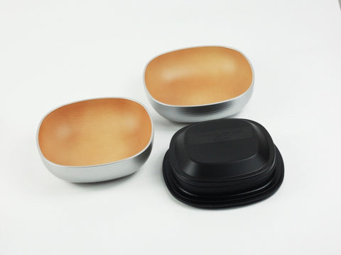 Samon Lunch Bowl | Silver by Hakoya - Bento&con the Bento Boxes specialist from Kyoto