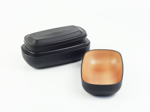 Samon Lunch Box | Black by Hakoya - Bento&con the Bento Boxes specialist from Kyoto