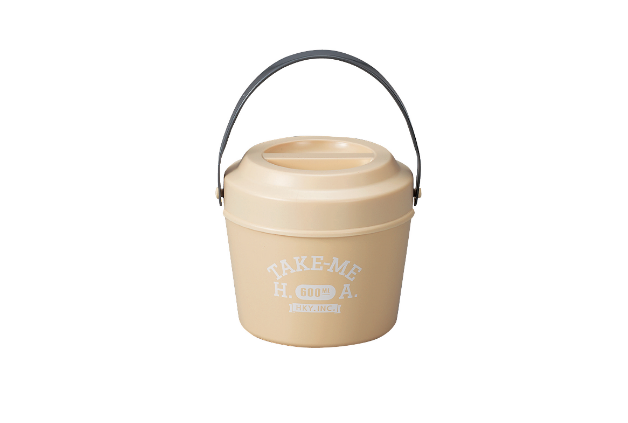 Pastel Lunch Box | Beige by Hakoya - Bento&co Japanese Bento Lunch Boxes and Kitchenware Specialists