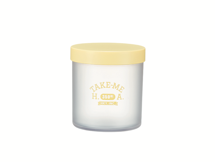 Pastel Container Small | Yellow