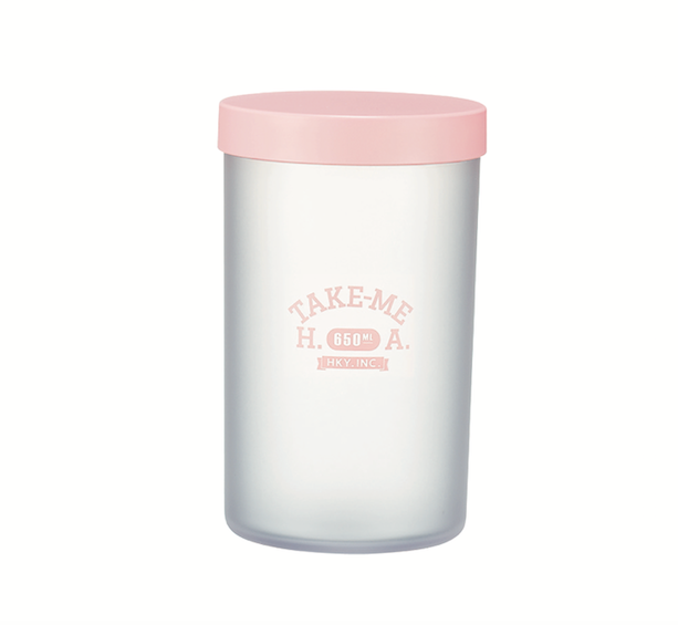 Pastel Container Large | Pink