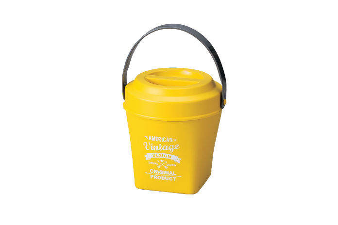 American Vintage Lunch Pot | Yellow