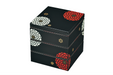 Ojyu Three Tier Picnic Box Large | Black by Hakoya - Bento&co Japanese Bento Lunch Boxes and Kitchenware Specialists
