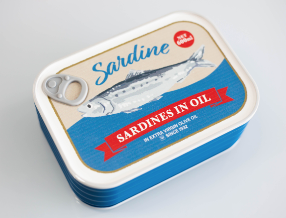 Market Vintage Bento Box | Sardine by Yaxell - Bento&co Japanese Bento Lunch Boxes and Kitchenware Specialists