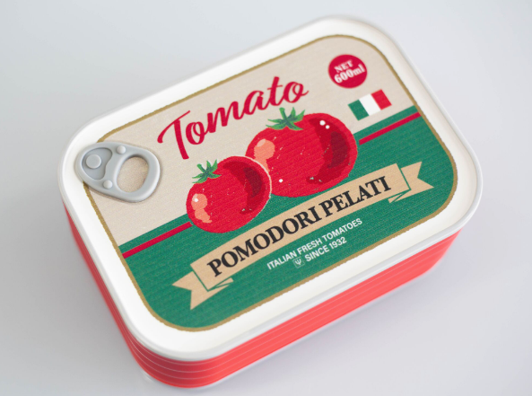 Market Vintage Bento Box | Tomato by Yaxell - Bento&co Japanese Bento Lunch Boxes and Kitchenware Specialists