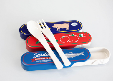 Market Vintage Cutlery Set | Luncheon Meat by Yaxell - Bento&co Japanese Bento Lunch Boxes and Kitchenware Specialists