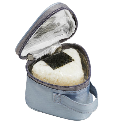 Insulated Double Onigiri Case | Stripes and Dots by Torune - Bento&co Japanese Bento Lunch Boxes and Kitchenware Specialists