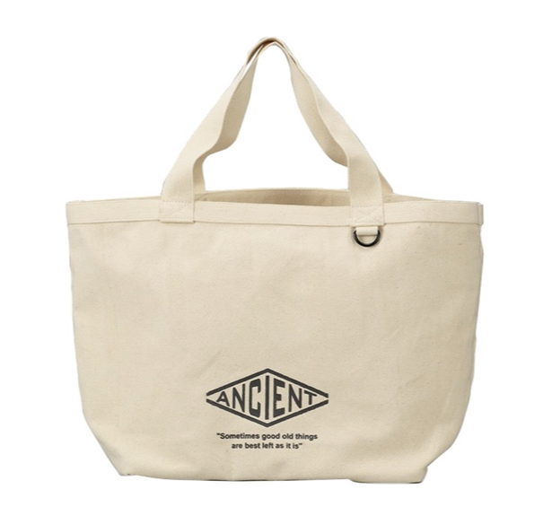 Ancient Tote Bag | White by Showa - Bento&co Japanese Bento Lunch Boxes and Kitchenware Specialists