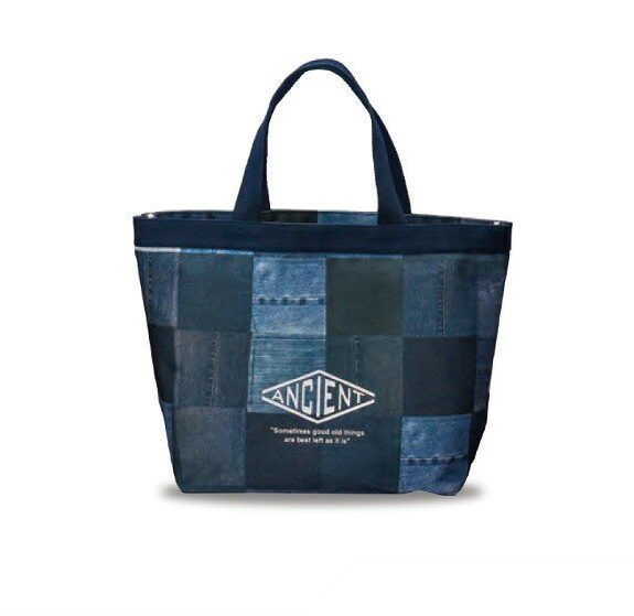 Ancient Tote Bag | Quilted Denim by Showa - Bento&co Japanese Bento Lunch Boxes and Kitchenware Specialists