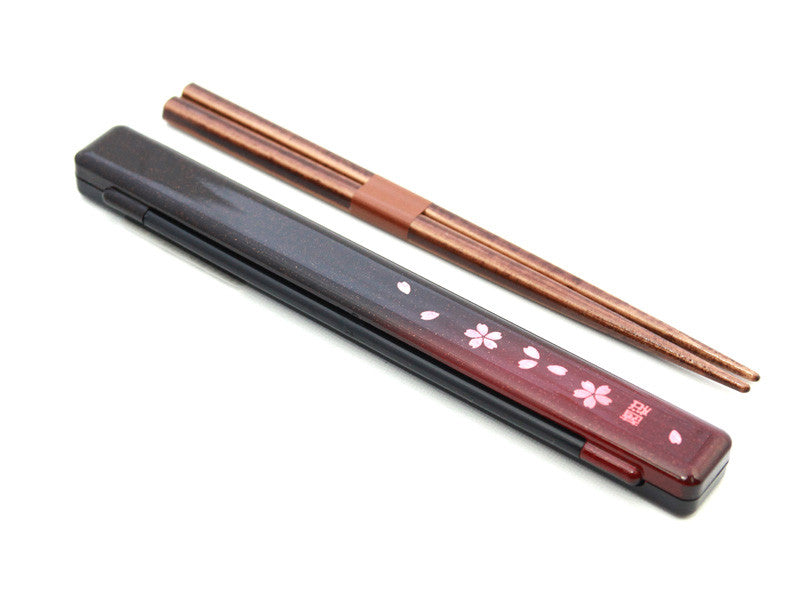 Slim Chopsticks Sakura by Hakoya - Bento&co Japanese Bento Lunch Boxes and Kitchenware Specialists
