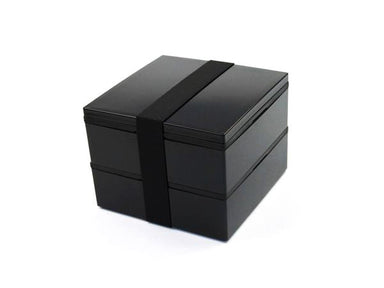 Square Lunch Black & Black | 1100 ml - Bento&co