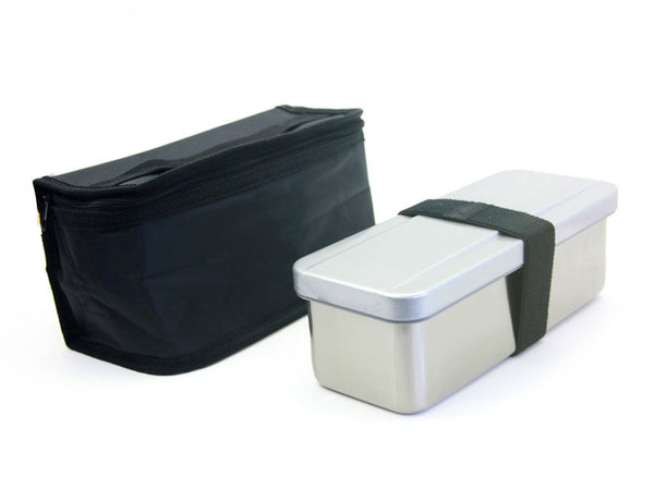 Stainless Steel Set: Box & Bag
