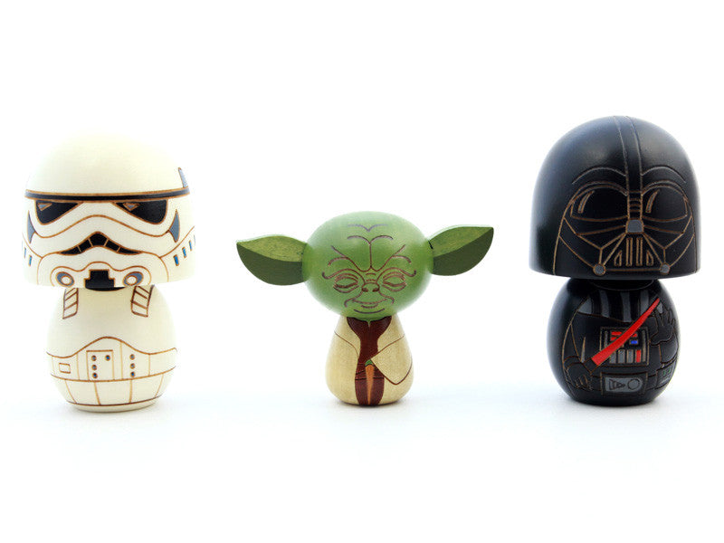 Star Wars Kokeshi Wood Doll by Usaburo - Bento&co Japanese Bento Lunch Boxes and Kitchenware Specialists