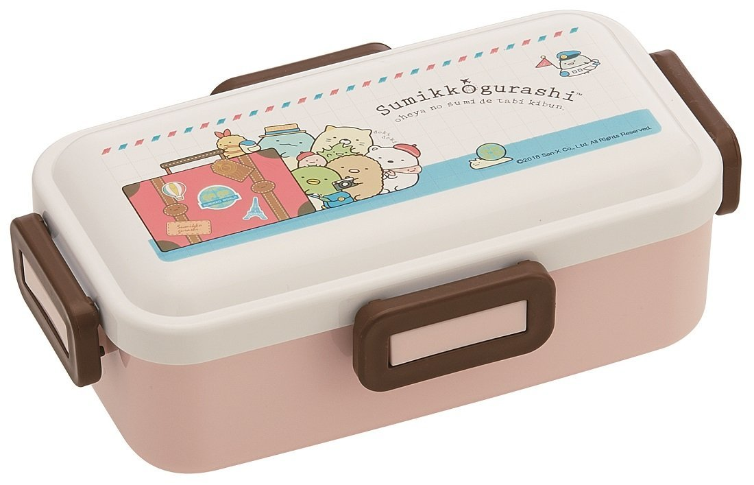 Sumikko Gurashi 4 Side Lock Bento Box by Skater - Bento&co Japanese Bento Lunch Boxes and Kitchenware Specialists