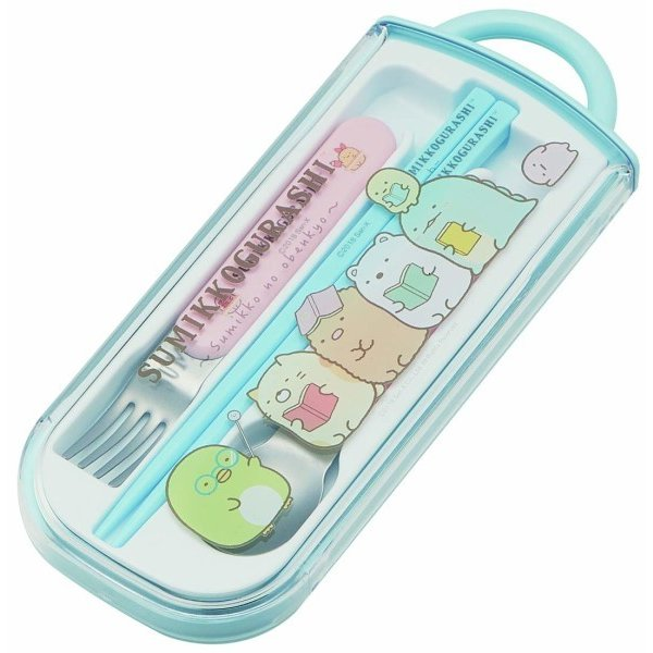 Sumikko Gurashi Cutlery Set by Skater - Bento&co Japanese Bento Lunch Boxes and Kitchenware Specialists