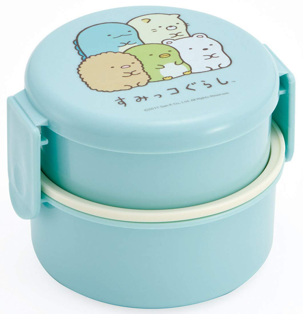 Sumikko Gurashi Round Two Tier Bento by Skater - Bento&co Japanese Bento Lunch Boxes and Kitchenware Specialists