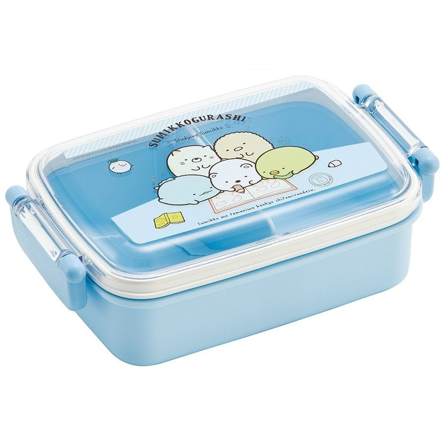 Sumikko Gurashi Side Lock Bento Box | Rectangle by Skater - Bento&co Japanese Bento Lunch Boxes and Kitchenware Specialists