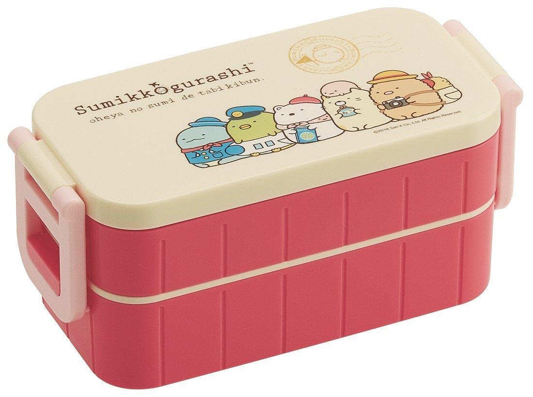 Sumikko Gurashi Two Tier Side Lock Bento by Skater - Bento&co Japanese Bento Lunch Boxes and Kitchenware Specialists