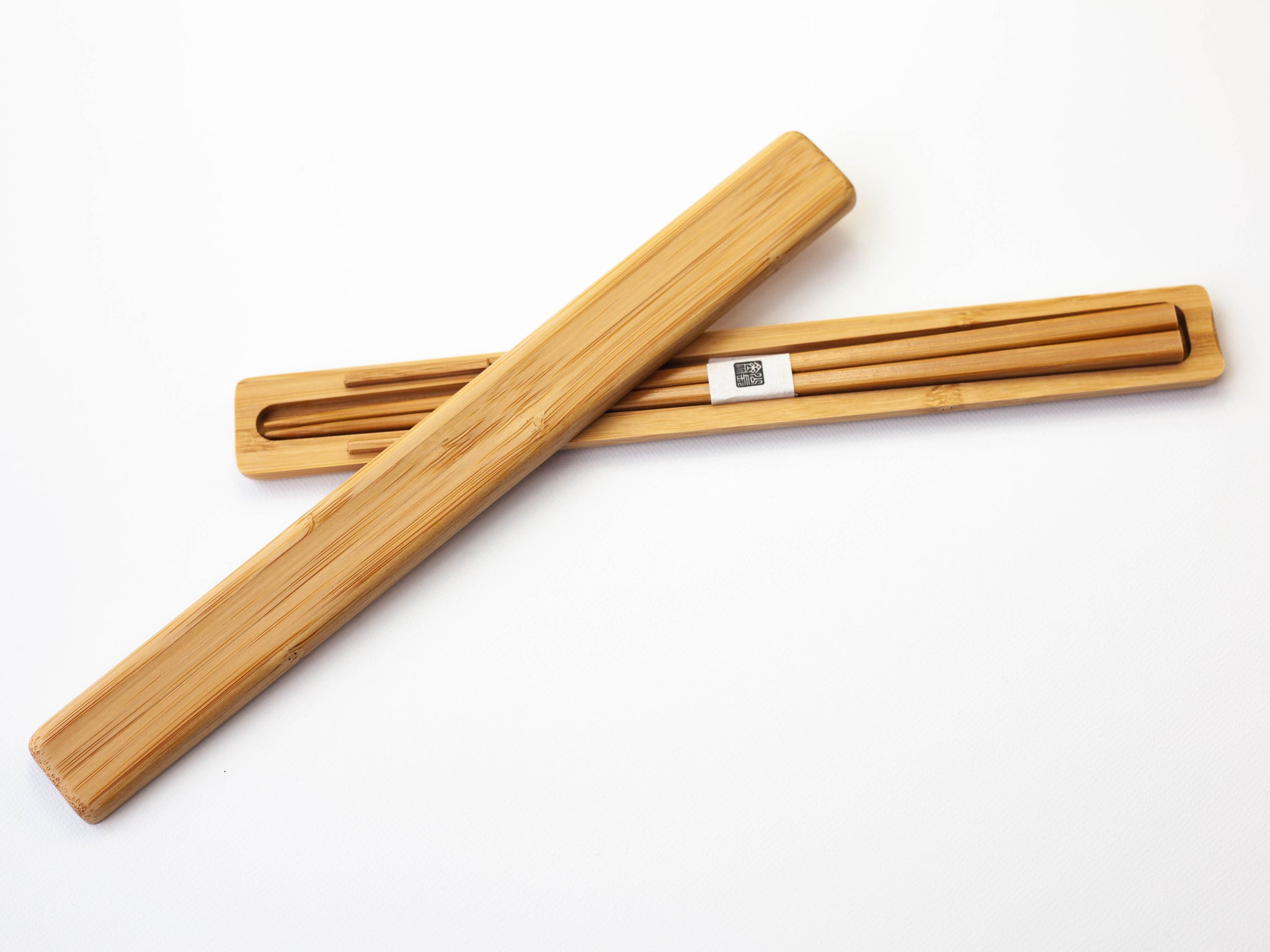 Bamboo Chopsticks Set | Black by Kohchosai Kosuga - Bento&co Japanese Bento Lunch Boxes and Kitchenware Specialists
