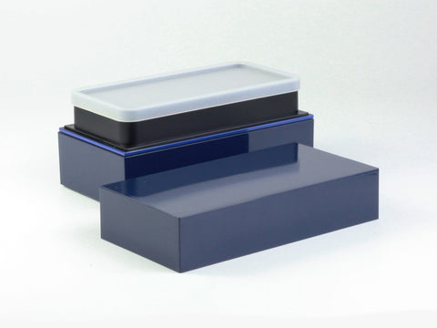 Takenaka Long Bento Box | Navy by Takenaka - Bento&co Japanese Bento Lunch Boxes and Kitchenware Specialists