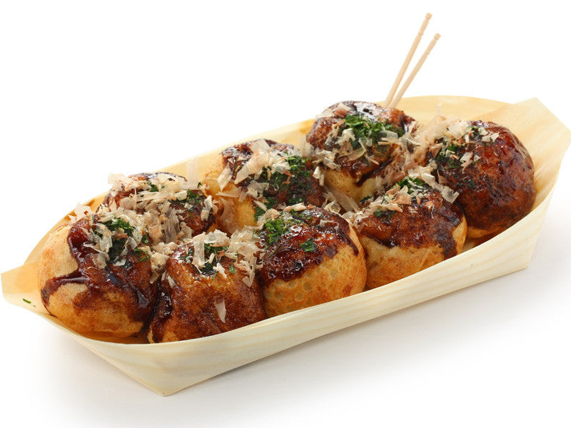 Takoyaki Wood Tray by Bento&co | AMZJP - Bento&co Japanese Bento Lunch Boxes and Kitchenware Specialists