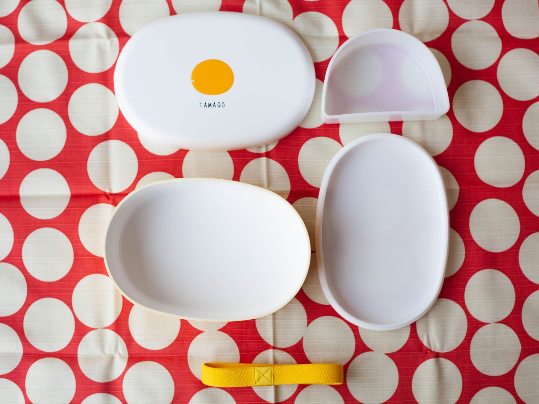 Toppings Oval Bento Box | Tamago by Hakoya - Bento&co Japanese Bento Lunch Boxes and Kitchenware Specialists