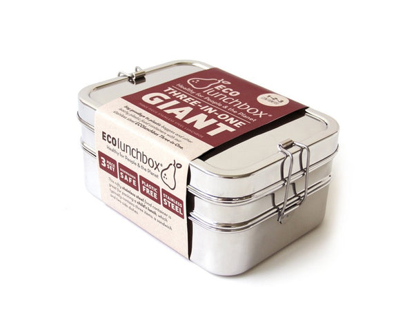 Eco Lunch Box 3 in 1 Giant