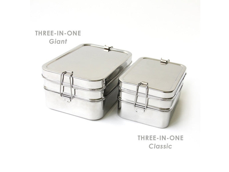 Eco Lunch Box 3 in 1 Giant by ECO Lunch Box - Bento&co Japanese Bento Lunch Boxes and Kitchenware Specialists