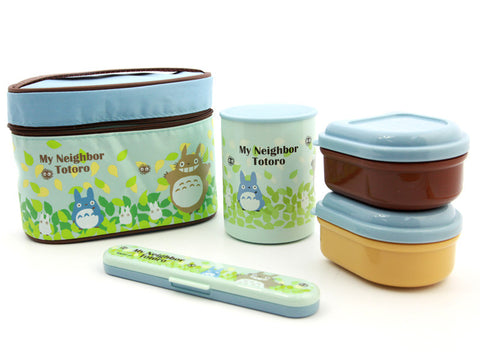 Totoro Thermal Lunch Set by Skater - Bento&co Japanese Bento Lunch Boxes and Kitchenware Specialists