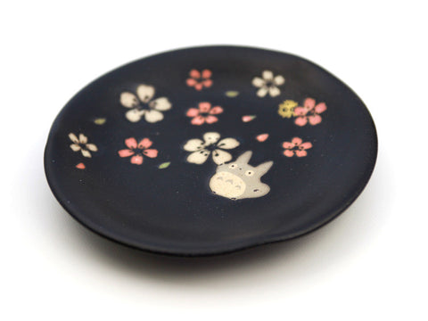 Totoro Mino Yaki Plate by Skater - Bento&co Japanese Bento Lunch Boxes and Kitchenware Specialists