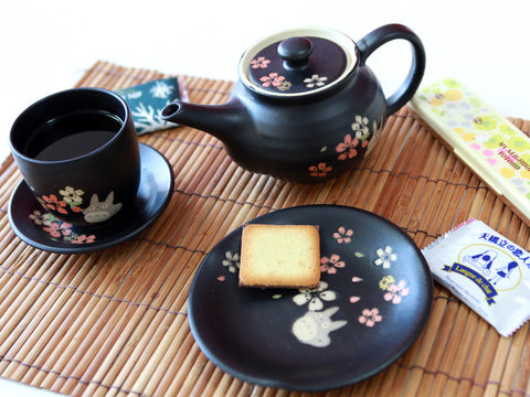 Totoro Mino Yaki Teapot by Skater - Bento&co Japanese Bento Lunch Boxes and Kitchenware Specialists