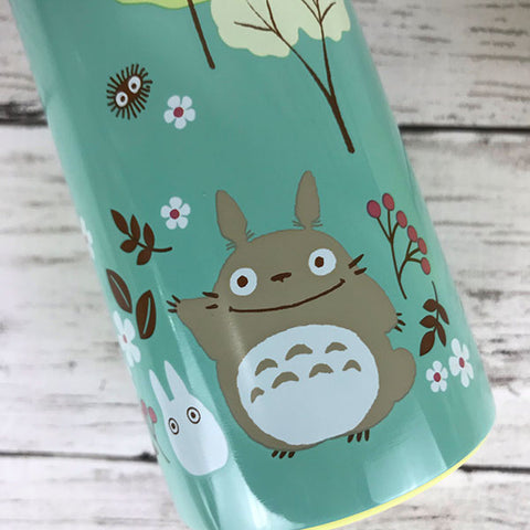 Totoro Field Stainless Steel Bottle by Skater - Bento&co Japanese Bento Lunch Boxes and Kitchenware Specialists