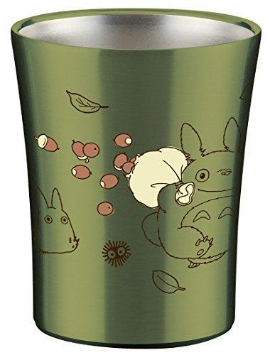 Totoro Stainless Steel Green Cup by Skater - Bento&co Japanese Bento Lunch Boxes and Kitchenware Specialists