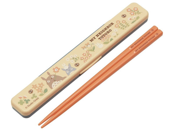 Totoro Flower Orange Chopsticks