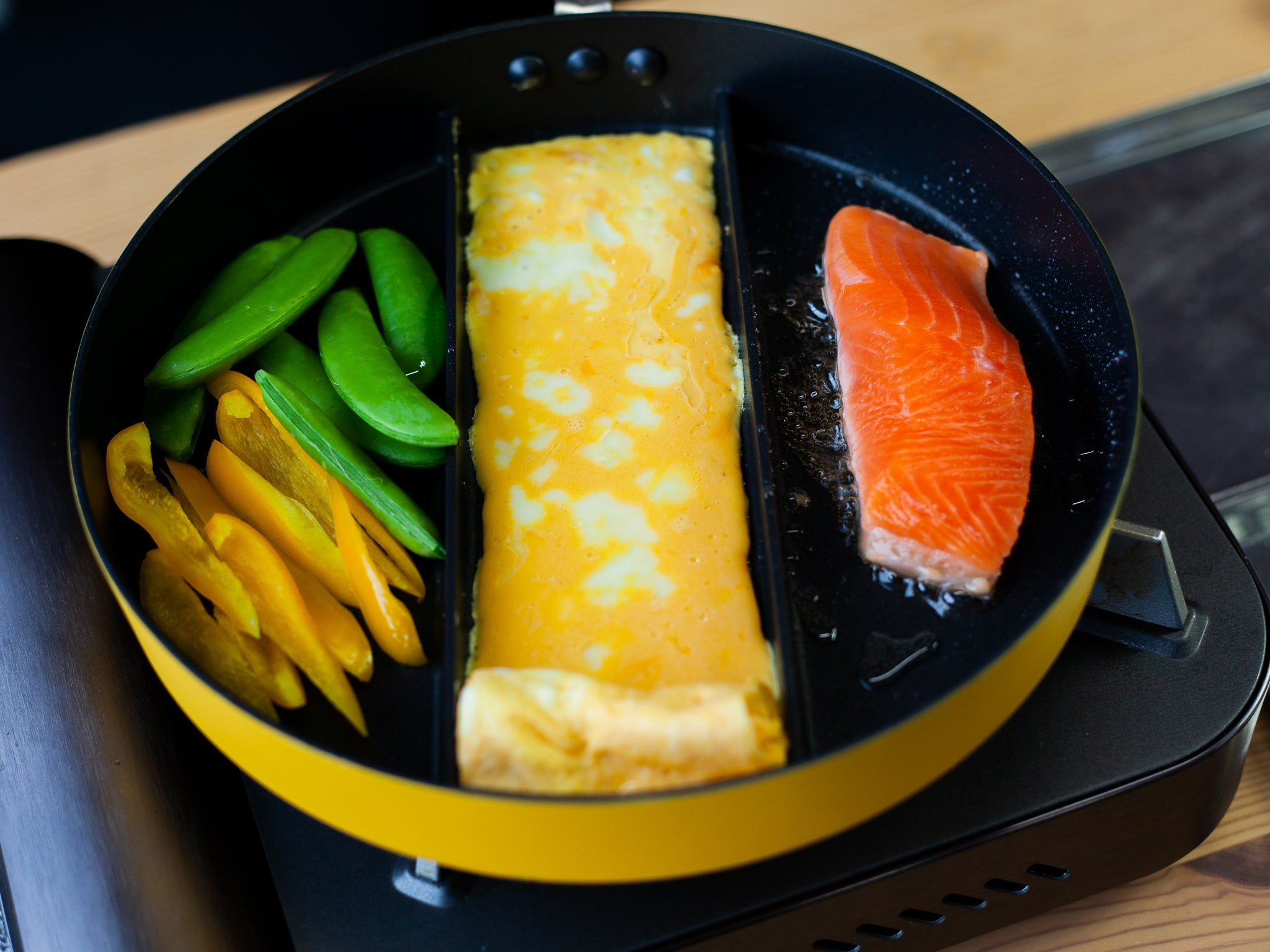 Triple Pan by Arnest - Bento&co Japanese Bento Lunch Boxes and Kitchenware Specialists