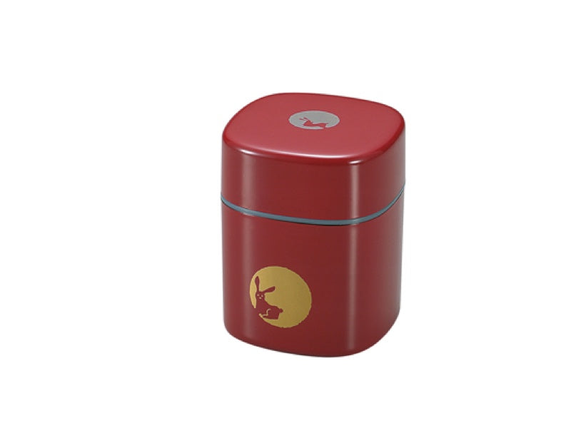 Tea Box Tsuki Usagi | Red by Hakoya - Bento&co Japanese Bento Lunch Boxes and Kitchenware Specialists
