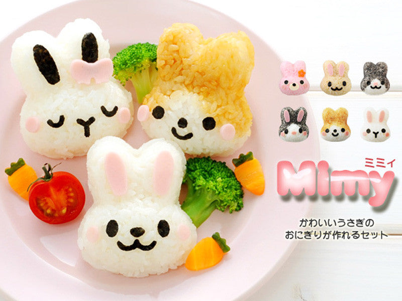 Usagi Mimy Onigiri Set by Arnest - Bento&co Japanese Bento Lunch Boxes and Kitchenware Specialists