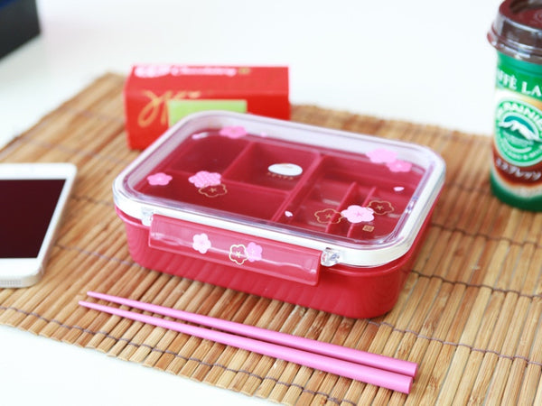 Usagi Shikiri Bento Red