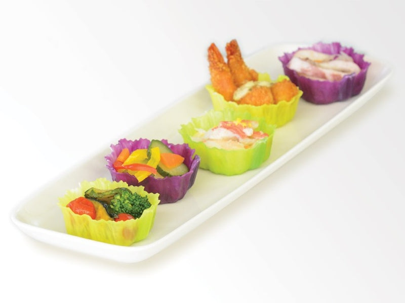 Purple Veggie Cups | Square