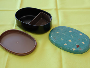 Wafu Cloth Round Bento Box | Plover by Hakoya - Bento&co Japanese Bento Lunch Boxes and Kitchenware Specialists