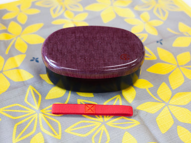 Wafu Cloth Round Bento Box | Arrow by Hakoya - Bento&co Japanese Bento Lunch Boxes and Kitchenware Specialists