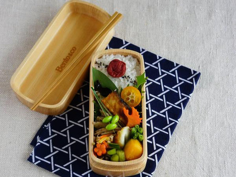 Wakayama Bento | Light Wood by Seibee - Bento&co Japanese Bento Lunch Boxes and Kitchenware Specialists