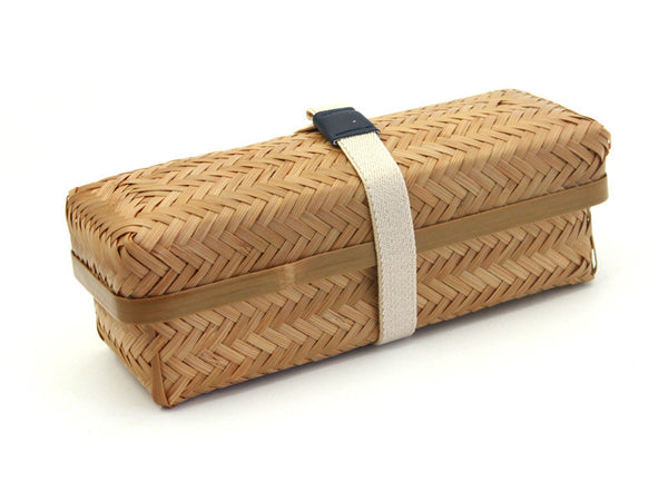 weaved bamboo box