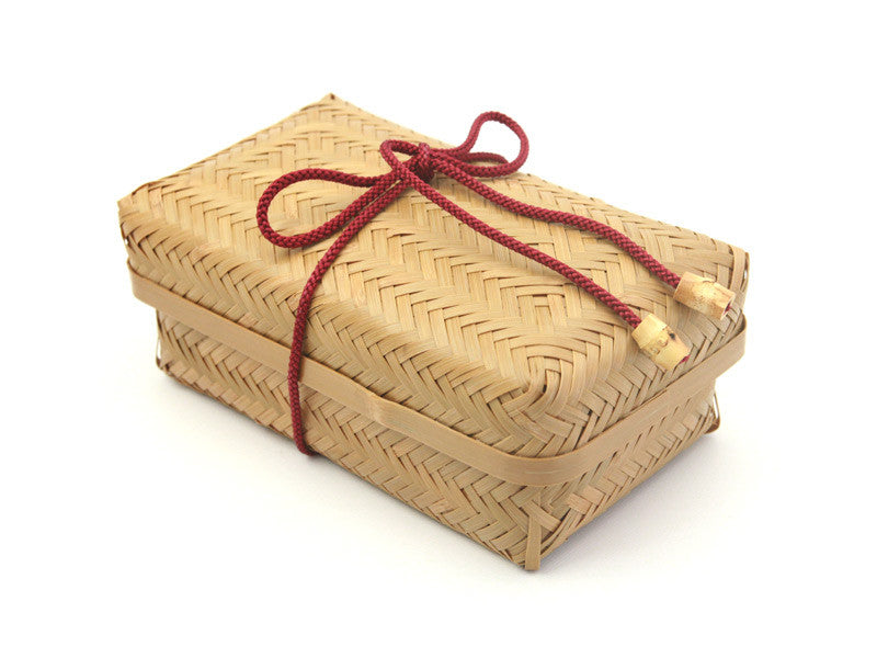 Weaved Bamboo Bento Box | Slim by Yamaki - Bento&co Japanese Bento Lunch Boxes and Kitchenware Specialists