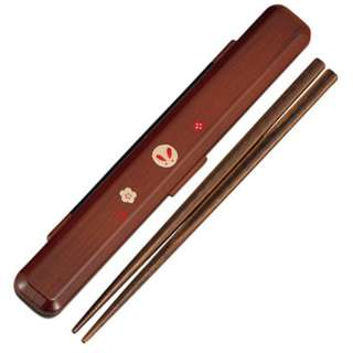 Wood Grain Usagi Chopsticks Set by Hakoya - Bento&co Japanese Bento Lunch Boxes and Kitchenware Specialists
