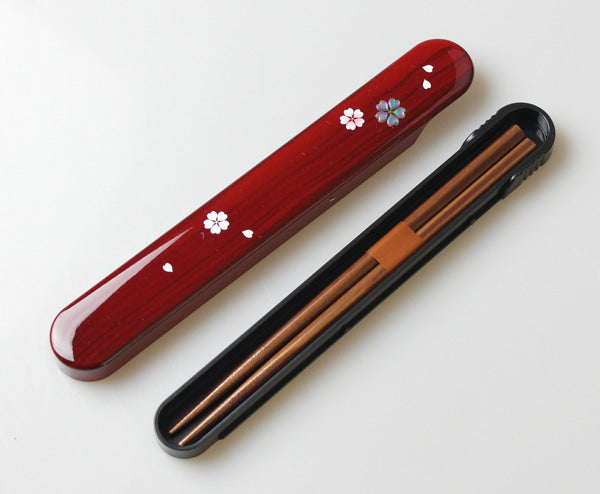 Wood Hue Yayoi Chopsticks Set by Hakoya - Bento&co Japanese Bento Lunch Boxes and Kitchenware Specialists